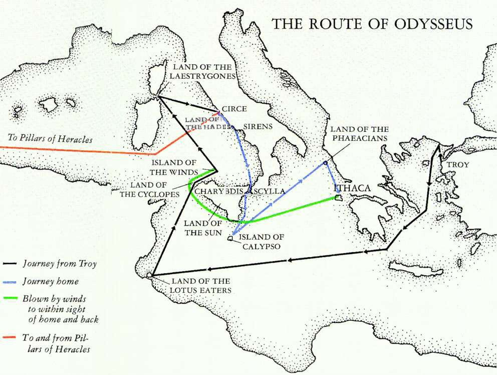odysseus great adventure The first great adventure story in the western canon, the odyssey is a poem  about violence and the aftermath of war about wealth, poverty, and power about .